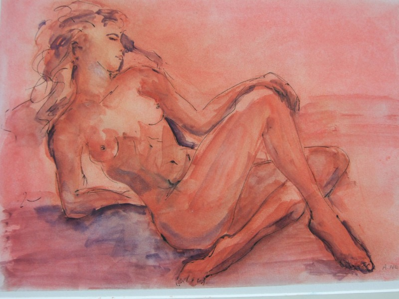 Reclining Nude - SOLD