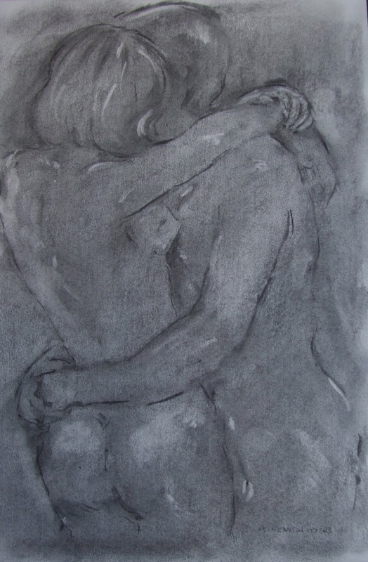 Lovers Embrace - SOLD