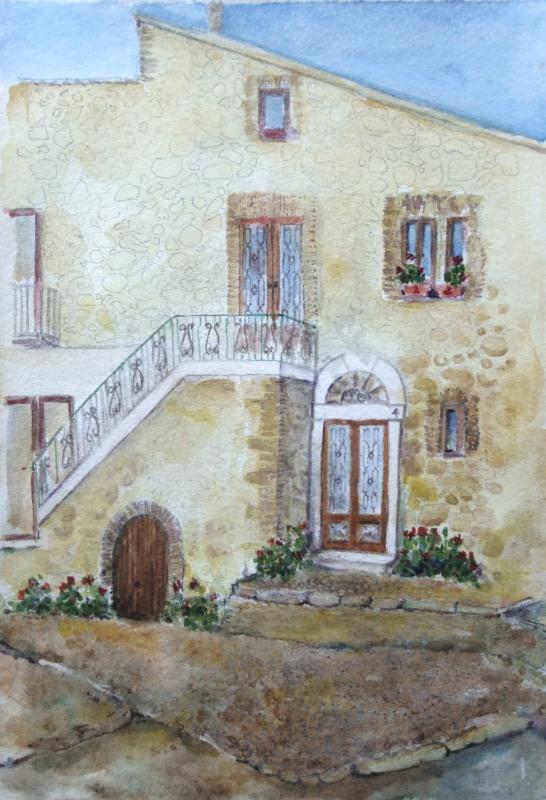 Bovino Italy 'Casa dove sono nata'